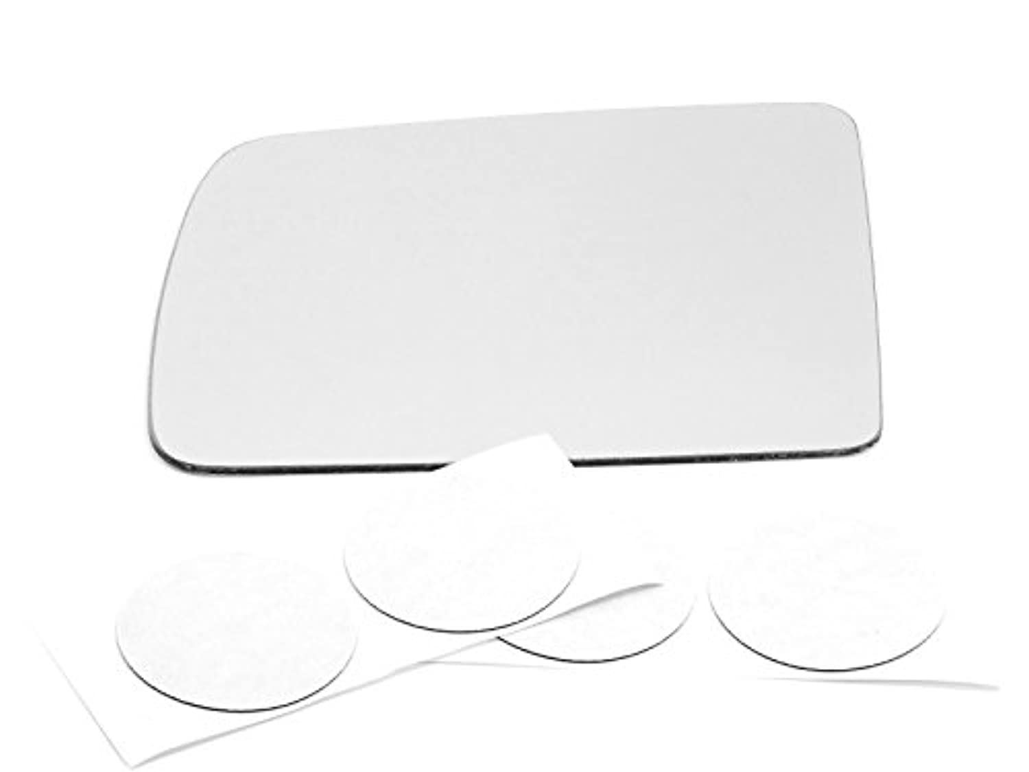 Fits 2010 Transit Connect Left Driver Mirror (Glass Lens) w/Adhesive USA