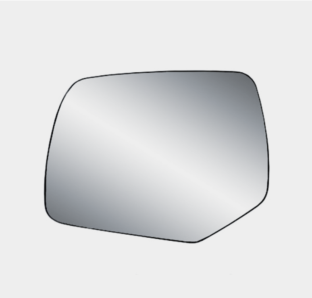 Fits 08-12 Escape, Mariner, Tribute Left Driver Mirror Glass w/Holder