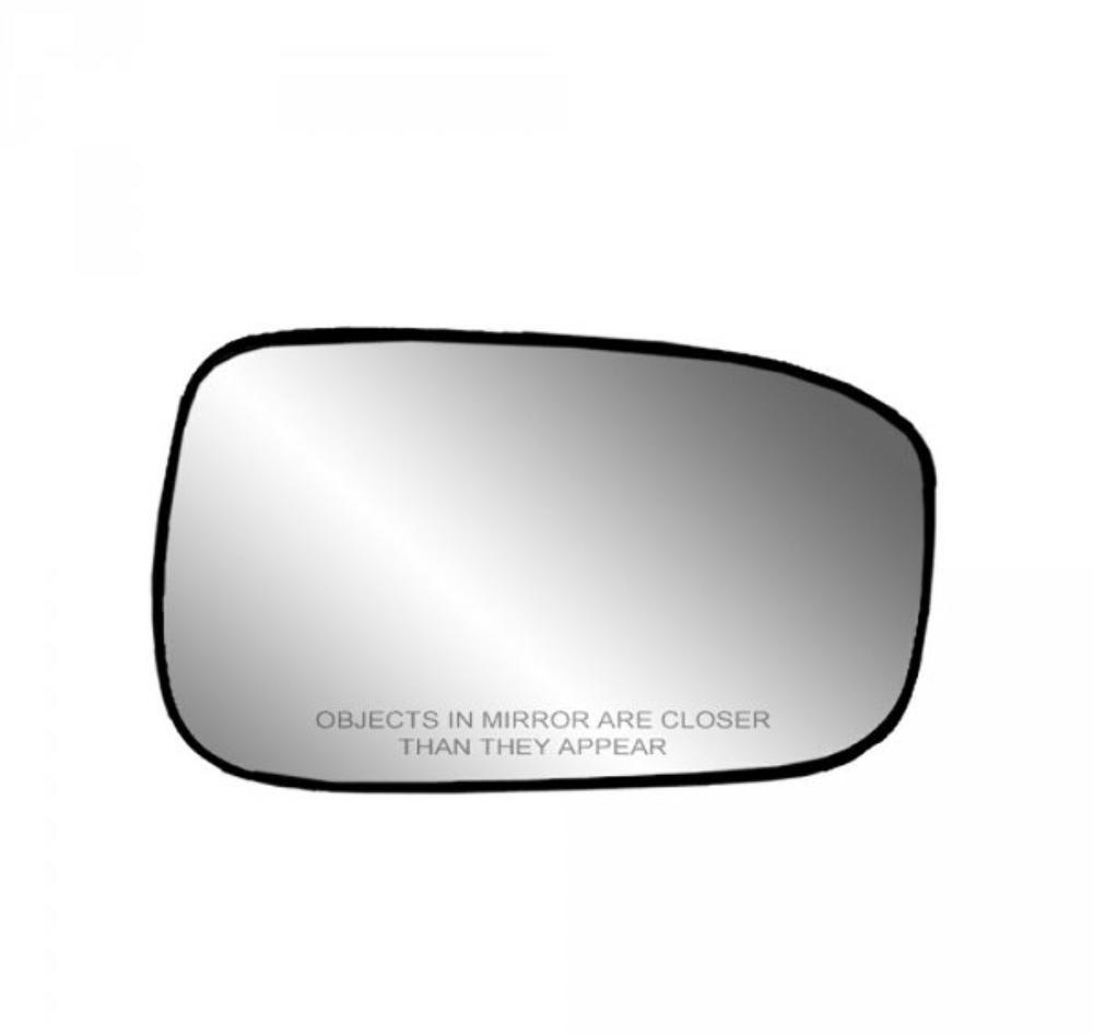 Fits 03-07 Honda Accord Right Passenger Mirror Glass w/ Holder