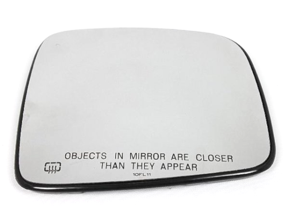 Fits Heated Mirror Glass w/Rear Holder Fits 04-07 Jeep Liberty Right Pass Convex  OE
