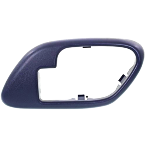 Chevy GMC Trucks SUV Interior Door Handle Bezel Blue Right for Manual Locks