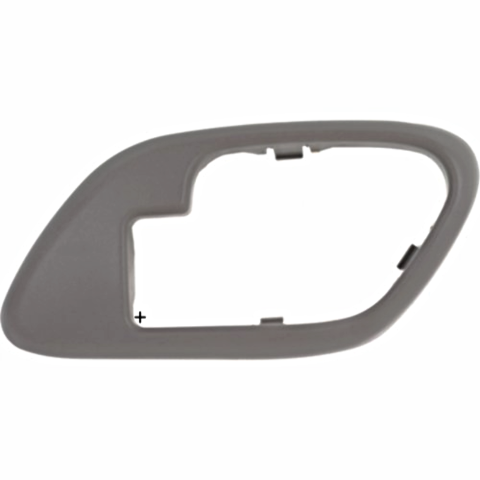 Fits Chevy GMC Trucks SUV Interior Door Handle Bezel Grey Right for Manual Locks