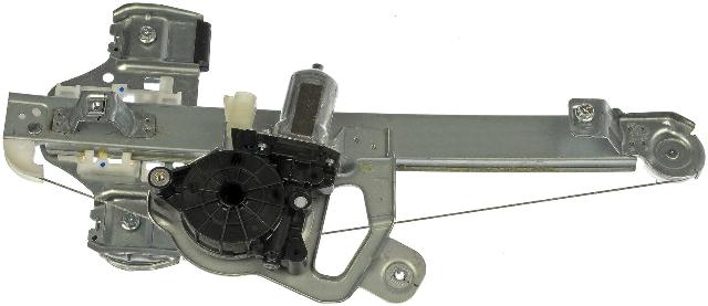 Fits 06-10 H3 Hummer, 09-10 H3T Rear Left Driver Window Regulator With Motor