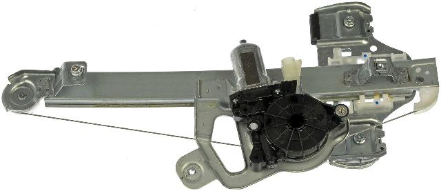 Fits 06-10 H3 Hummer, 09-10 H3T Rear Right Passenger Window Regulator With Motor