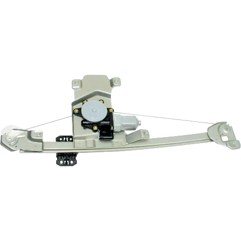 Fits 04-12 Chevy Colorado / GMC Canyon Rear Driver Power Window Regulator With Motor