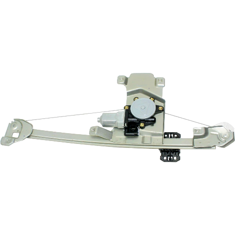 Fits 04-12  Colorado / GM Canyon Rear Passenger Power Window Regulator With Motor