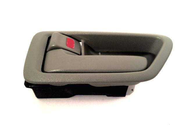 Fits 97-01 Camry Left Driver Side Front / Rear Interior Door Handle w/Bezel Beige
