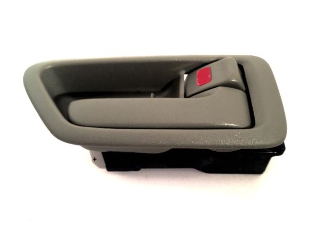 Fits 97-01 Camry Right Pass Side Front / Rear Interior Door Handle w/Bezel Beige