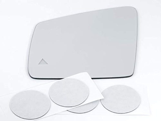 VAM Fits MB GLE, GLS Models Left Driver Mirror Glass Lens w/Blind Spot Icon