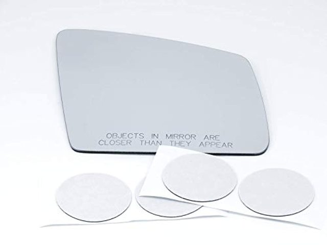 VAM Fits MB GLE, GLS Models Right Pass Mirror Glass Lens w/Adhesive