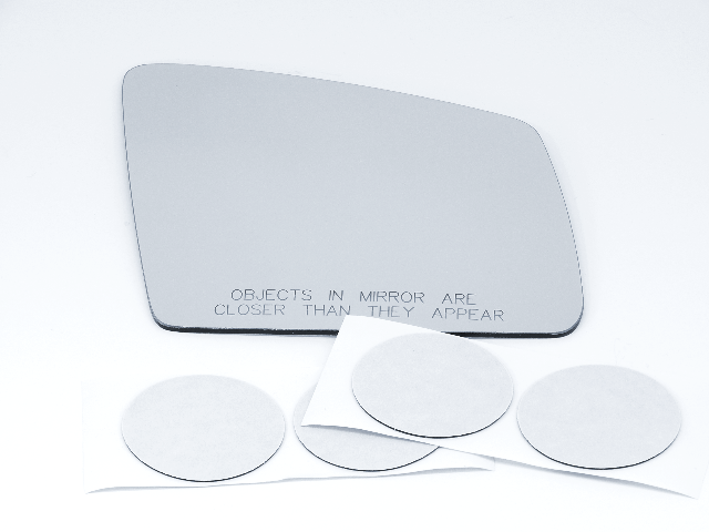 Fits Mercedes GLE, GLS Models Right Pass Mirror Glass Lens w/ Adhesive