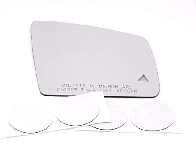 VAM Fits MB GLE, GLS Models Right Pass Mirror Glass Lens w/Blind Spot Icon