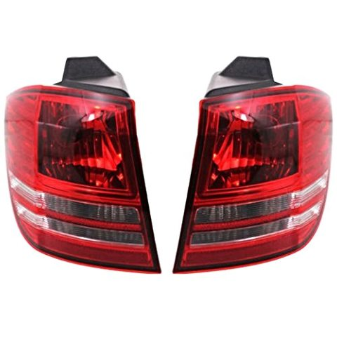 Fits 2009 Journey Left & Right Tail Light/Lamp Assem Non LED Qtr Mounted
