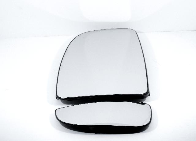 For 14-19 Promaster Left Upper & Lower Heated Mirror Glass w/Holder non Extending
