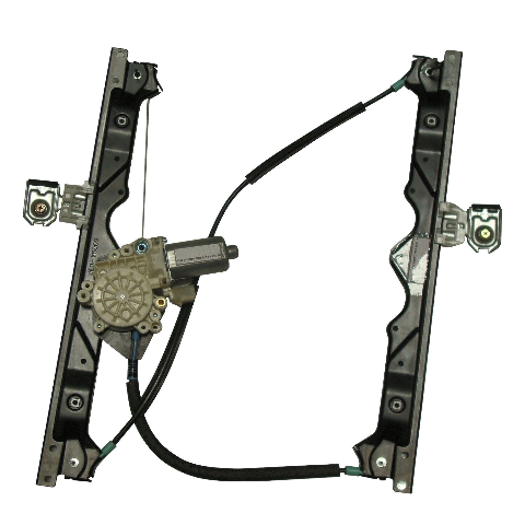 Fits 06-10 Grand Cherokee Front Driver Window Regulator With Motor 6-Pin Connector