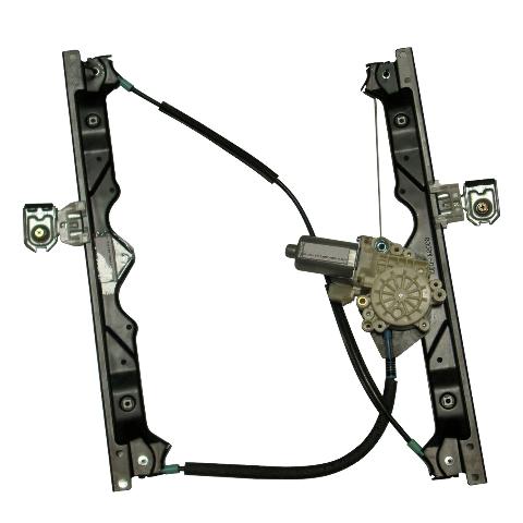 Fits 06-10 Grand Cherokee Front Passenger Window Regulator With Motor 6-Pin Connector