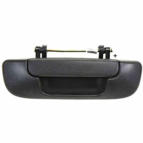 Fits 02-08 Ram 1500, 03-09 2500 3500 Rear Tailgate Handle Textured Black