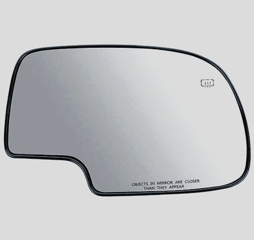 New Power Heated Mirror Glass Passenger Right Side For 99-07 Chevrolet 88986363
