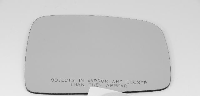 Fits 02-07 Jeep Liberty Right Pass Convex Mirror Glass w/Rear Mount Bracket