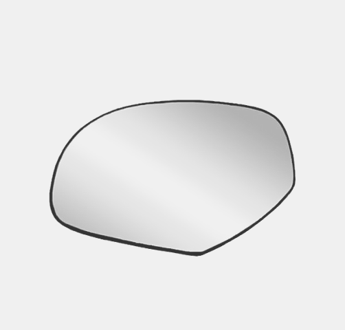 Fits 07-14 Silverado, Sierra 07-14 Tahoe, Yukon, Suburban, Avalanche, Escalade Left Driver Heated Mirror Glass w/Holder*