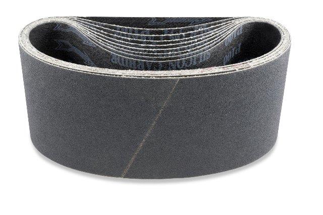 "5 Sanding Belts 4"" x 24"" 120 grit"