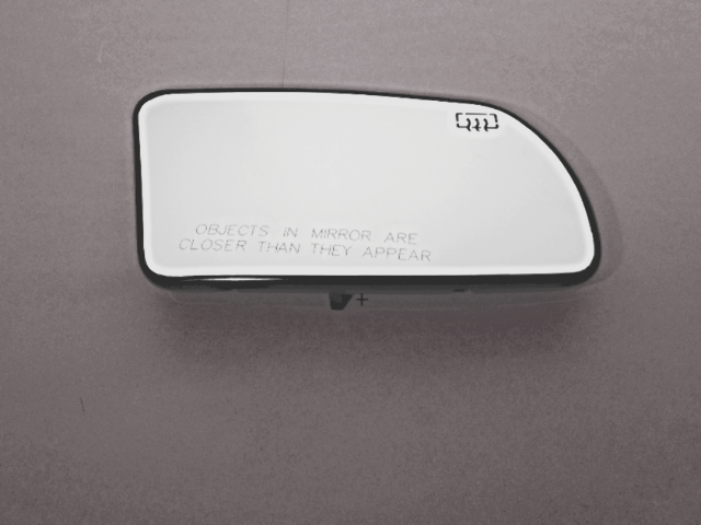 Right Pass Mirror Glass Heated w/Holder for 07-12 Altima Sedan, 08-13 Coupe