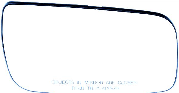 Fits 08-09 Taurus Right Passenger Mirror Glass w/ Rear Back Plate