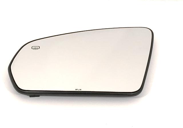 Fits 07-09* Sebring 08-09 Avenger Driver Mirror Glass w/Back w/Foldaway OE