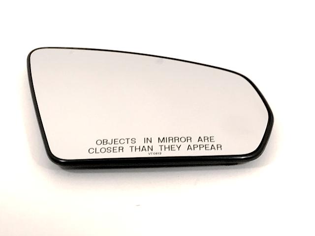 Fits 09-10 Sebring 08-14 Avenger Passenger Mirror Glass w/Back w/Foldaway OE