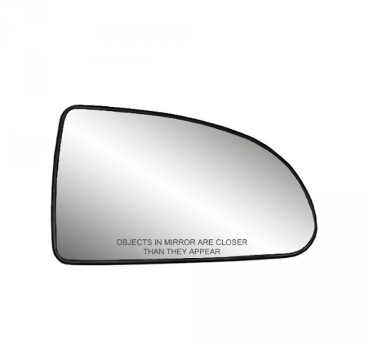 Fits 05-10 Chevy Cobalt 07-10 Pontiac G5 Right Pass Mirror Glass w/ Holder