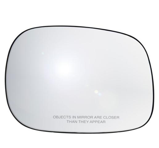 Fits 02-04 Ram 1500 2500 3500 Right Pass Mirror Glass w/ Holder