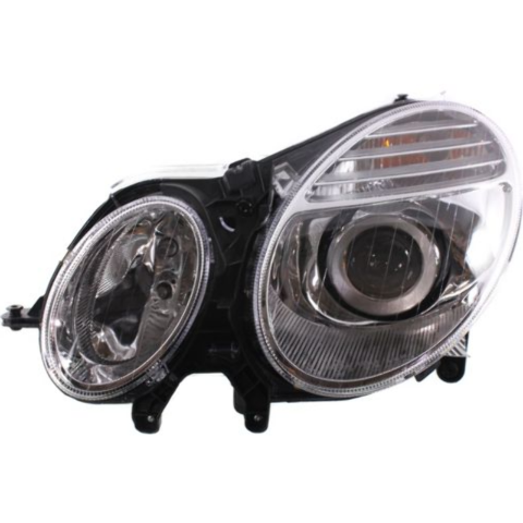 FITS 07-09 MERCEDES BENZ E-CLASS LEFT DRIVER HALOGEN HEADLAMP ASSM FROM 6/30/06