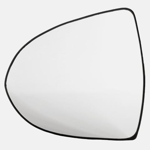 Fits 11-16 Kia Sportage Left Driver Heated Mirror Glass w/ Rear Holder OEM