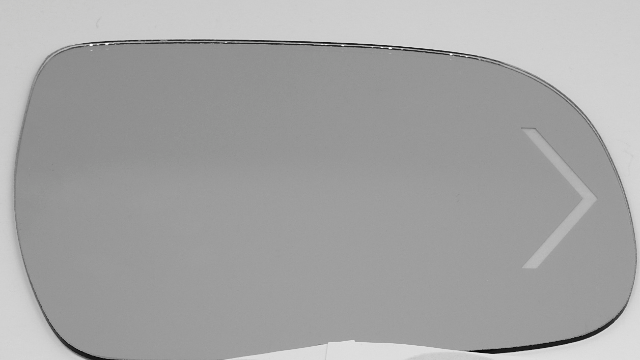 Fits 08-10 Sienna Right Pass Heated Mirror Glass w/ Signal w/Holder OEM