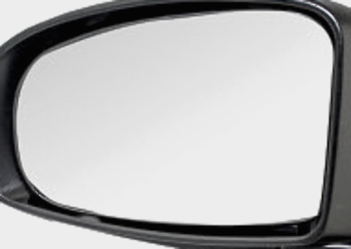 """Fits 10-14 Prius Lt Driver Heated Mirror Glass w/Holder OE except """"C"""" or """"V"""""""