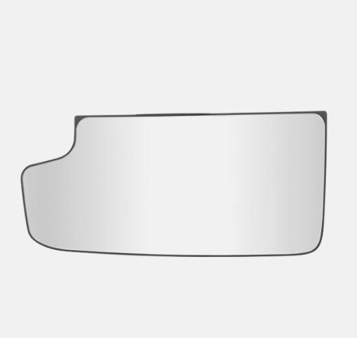 Fits 15-18 Silverado, Sierra Left Driver Lower Mirror Glass w/ Holder  2014 1500