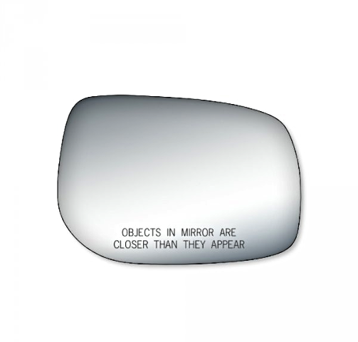 Fits 09-13 Corolla, Matrix, Pont Vibe Right Pass Mirror Glass Lens W/ Silicone