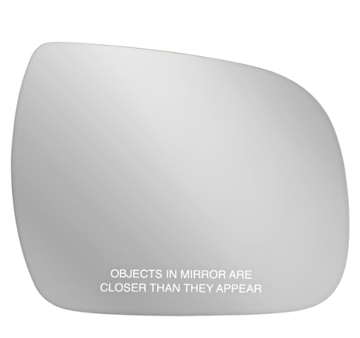 Fits 11-17 Sienna Right Passenger Convex Mirror Glass Lens w/out Holder