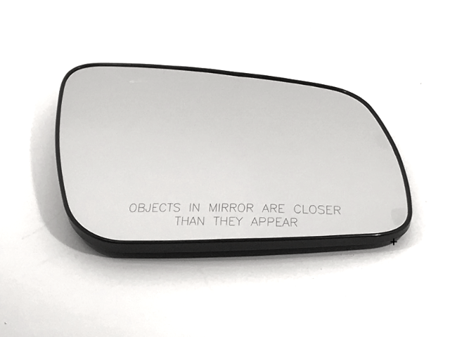 Fits 08-14 Mitsubishi Lancer Right Pass Mirror Glass w/Rear Holder