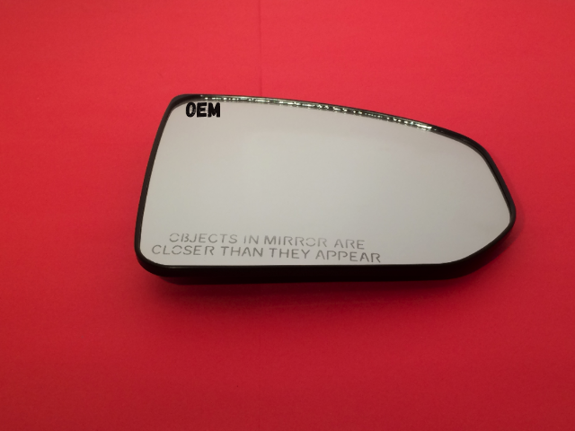 Fits 09-19 Nissan 370Z Right Pass Convex Mirror Glass w/ Rear Holder OE
