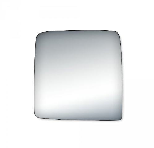 Fits 07-17 Wrangler Right Passenger Convex Mirror Glass Lens w/Adhesive