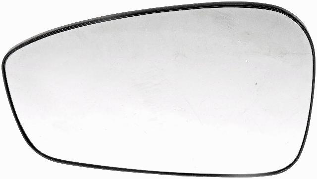Fits 11-14  Fiesta Left Driver Manual Mirror Glass w/Holder OE