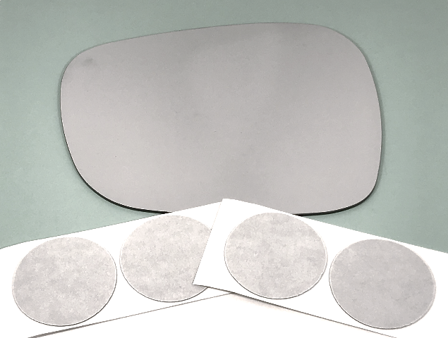 Fits 11-14 BMW X3 Left Driver Mirror Glass Lens Models w/out Auto Dimming