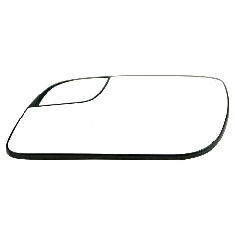 Fits 12-18 Taurus Left Driver Mirror Glass w/ Small Spot, Rear Holder OE
