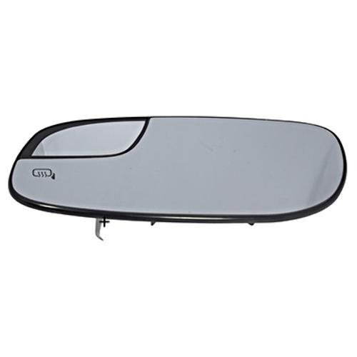 Fits 12-18 Taurus Left Driver Mirror Glass w/ Small Spot, Rear Holder Heated OE