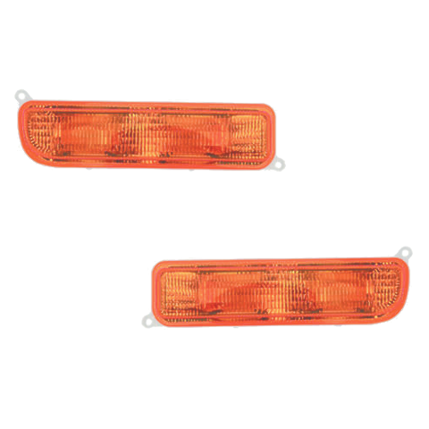 Fits 97-01 Cherokee Right & Left Front Park Signal Lights Set