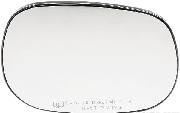 Fits Dakota, Durango, Ram P/u, Van Right Pass Heated Mirror Glass w/ Holder