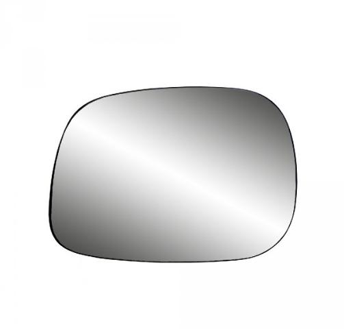Fits 05-08 Ram 1500, 2500, 05-09 3500 Left Driver Mirror Glass w/Holder