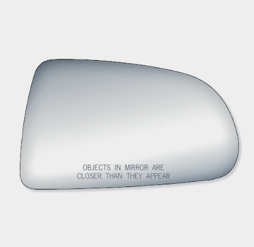 Right Pass Mirror Glass Lens Fits Non Folding Type for 05-11 Dakota 06-09 Raider