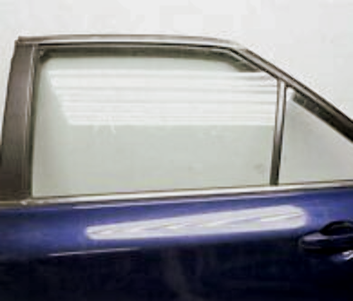 Rear Door Window Glass Left Driver Side for 15-17 Camry